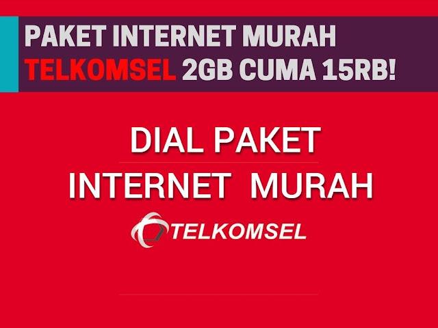 Saat ini internet merupakan suatu hal yang tak dapat lepas dari seseorang Paket Murah Telkomsel 2GB 15++rb 2019 Terbaru