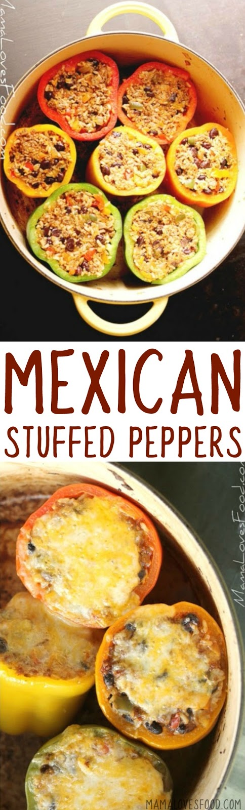 How to Prepare Easy Mexican Stuffed Peppers Recipe