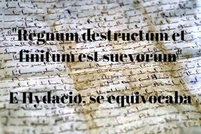 Regnum destructum et finitum est suevorum