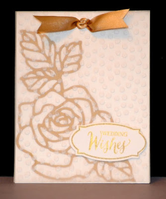 Rose Wonder, Wedding card, Stampin Up, Stamp with Trude, Trude Thoman