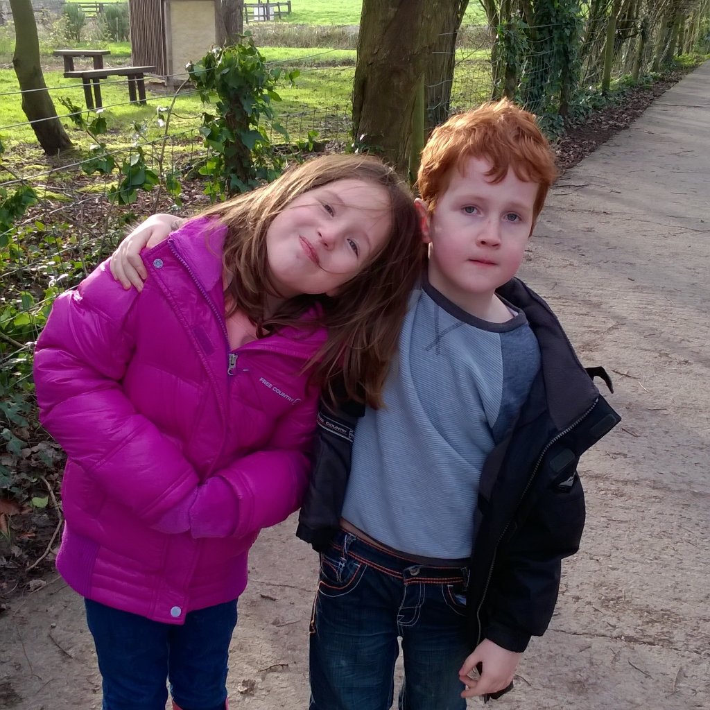 after school activities - Caitlin & Ieuan at Cosmeston