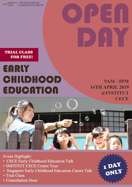 Institut CECE Diploma Programmes in Early Childhood Education With Immediate Employment in Singapore, Institut CECE, Diploma Programmes in Early Childhood Education, Early Childhood Education, Immediate Employment in Singapore, Employment in Singapore, Education, Lifestyle