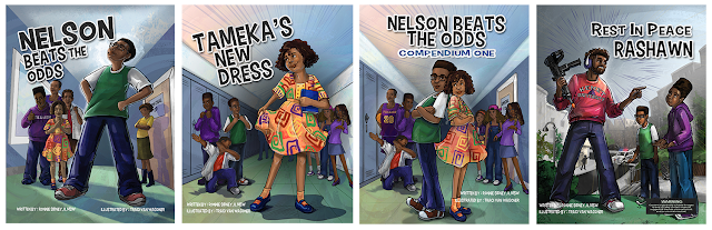 Nelson Beats the Odds series designed and illustrationed by Traci Van Wagoner and Kurt Keller