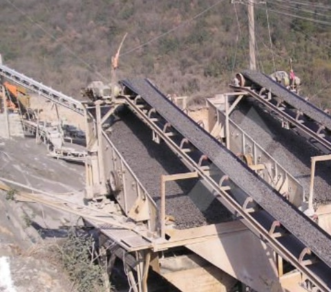 Concrete conveyor belt system can transport enormous amount of concrete in less accessible area.