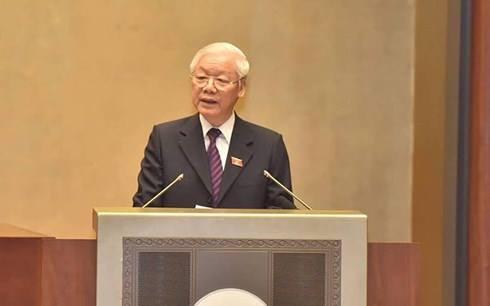 Chủ tịch nước Nguyễn Phú Trọng trình đề nghị Quốc hội phê chuẩn hiệp định CPTPP