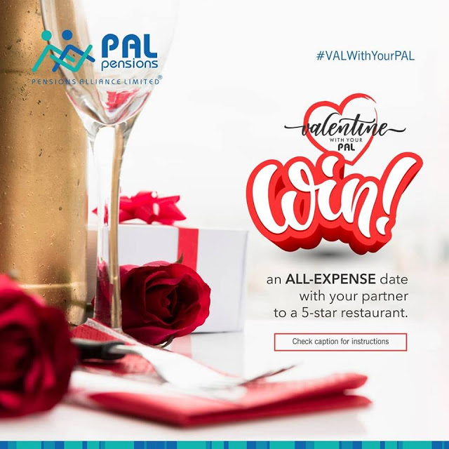 WIN an All-Expense Paid Date with Your Partner in PAL PENSIONS Valentine with Your PAL!!!