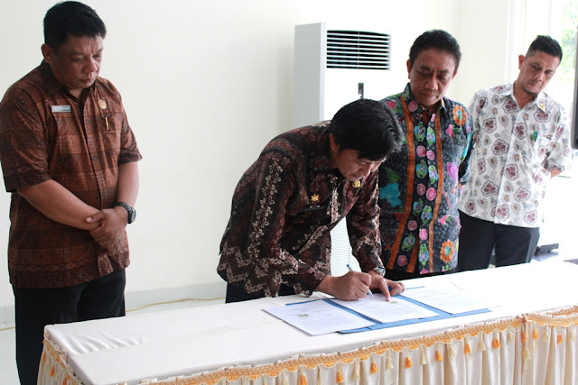 Serah Terima Kantor Administrator KEK, Pangemanan Minta Dukungan Masyarakat