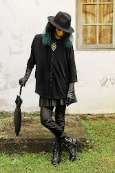 witch modern hat halloween rebel brim zara
