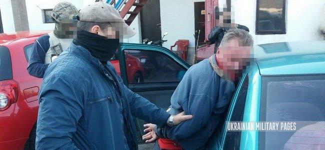 СБУ затримала російського шпигуна