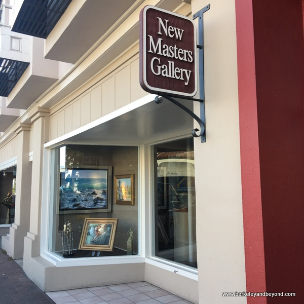 New Masters Gallery art gallery in Carmel, California