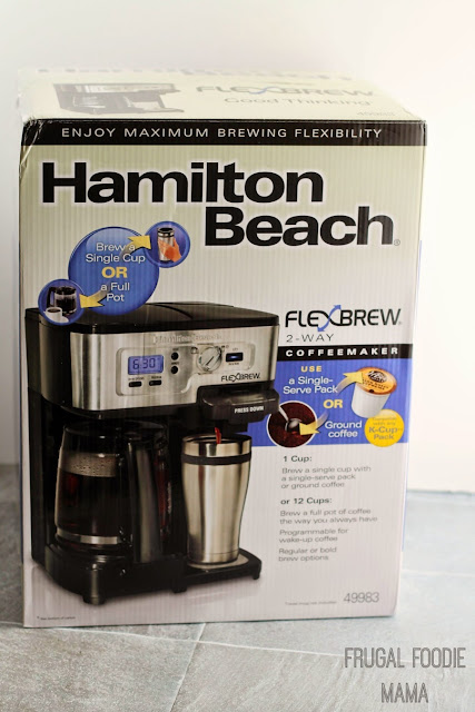 Enter to win a Hamilton Beach FlewBrew 2-Way Coffee Maker! Ends 5/12/15