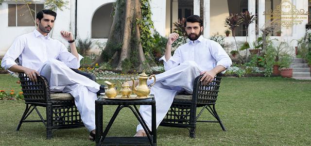 Modernistic Everyday for Gentle Men By Gul Ahmed 2016/17 www.fashionwearstyle.com