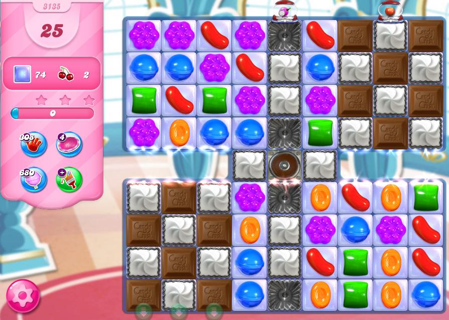 Candy Crush Saga level 3135