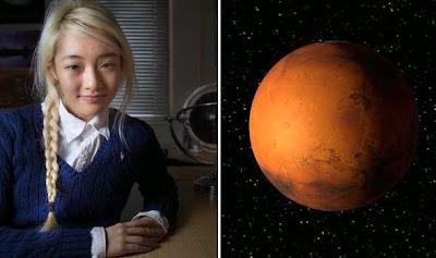 Mahasiswa Inggris Berharap Melahirkan di Mars