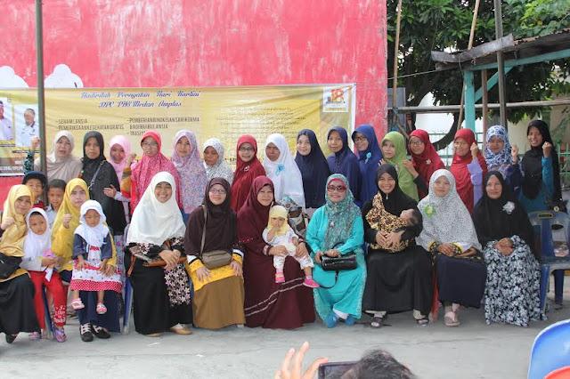 Hari Kartini, PKS Medan Amplas Gelar Baksos Khusus Lansia