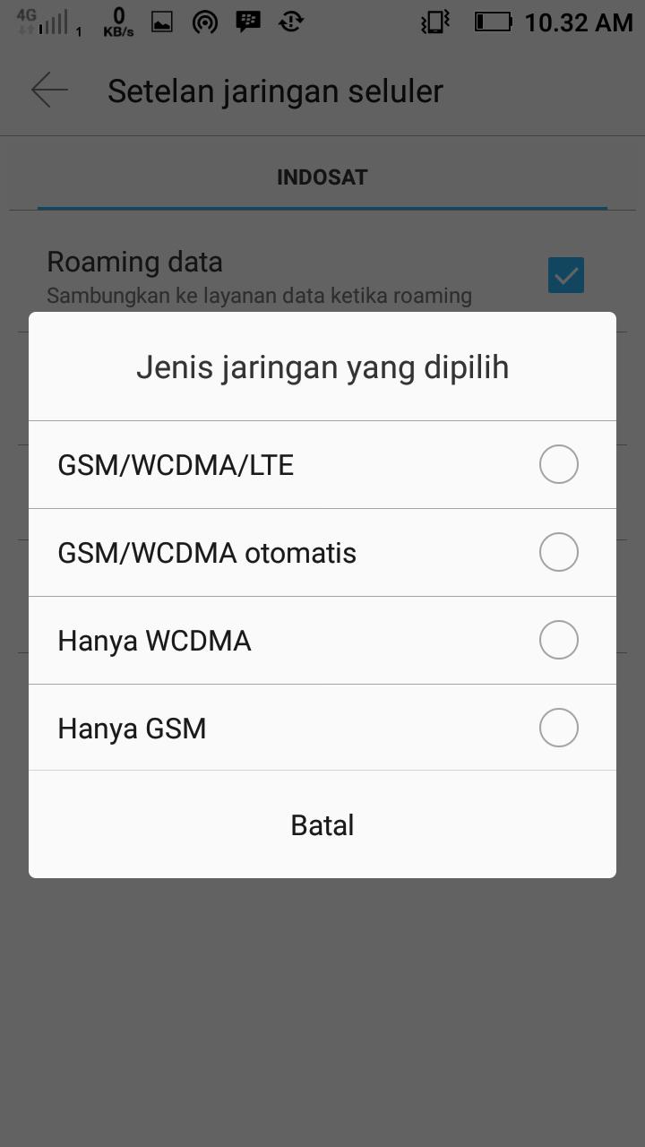 Cara Mengaktifkan & Menganti 3G ke 4G LTE di Android 2019 - Septian
