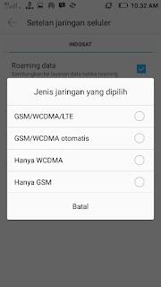Cara Merubah Sinyal 2G EDGE, 3G / HSPA Menjadi 4G di Android