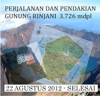 pamflet pendakian rinjani-santri dan alam