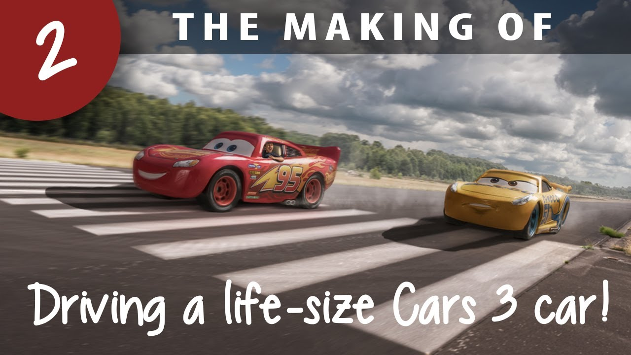 Making of: Driving a life-size Cars 3 car!