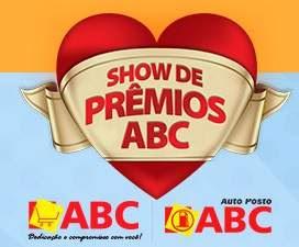 Cadastrar Promoção Show de Prêmios ABC 2018 Lojas Postos Super ABC
