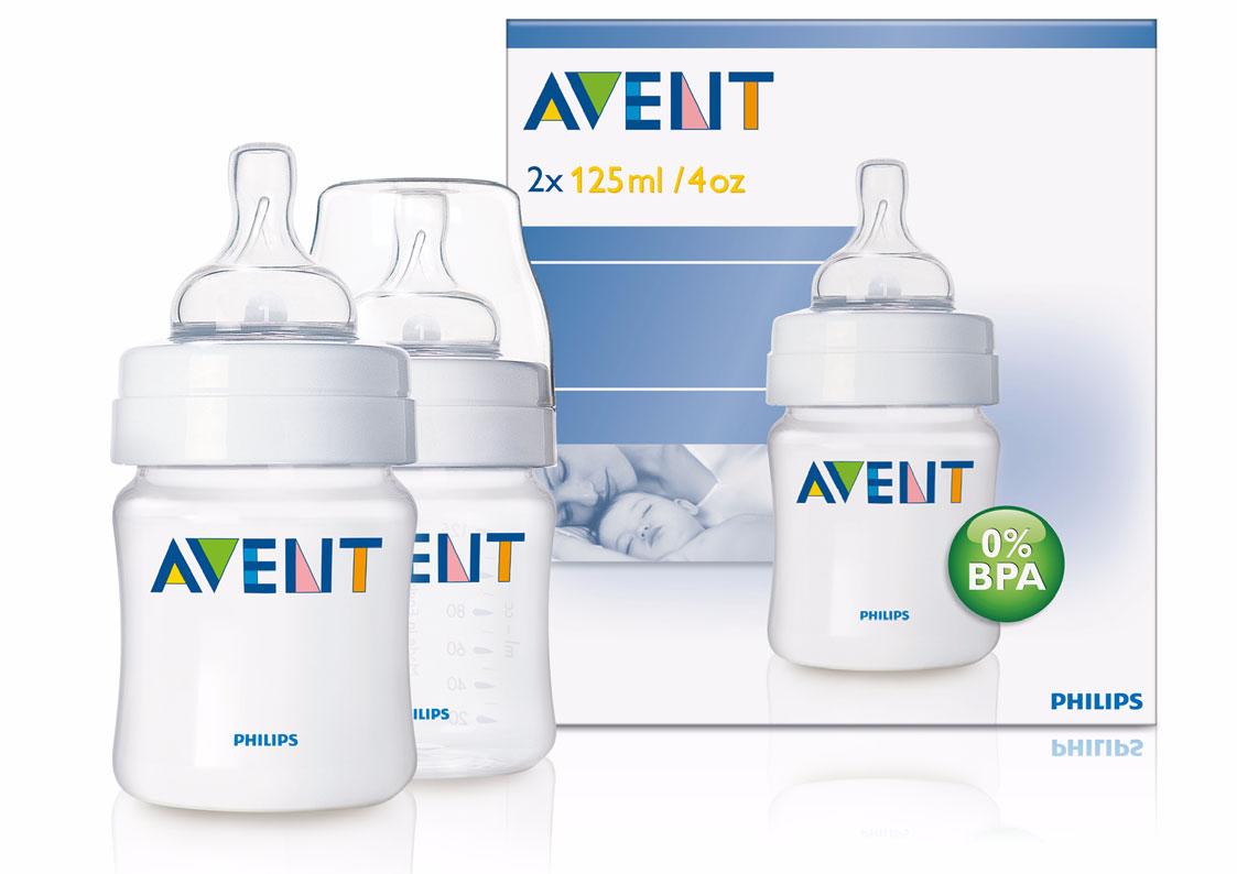 Phillips Avent Classic Natural Feeding Bottle Anti