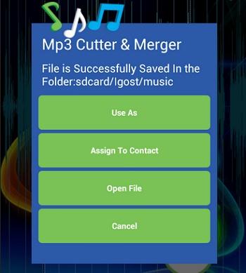 aplikasi menggabungkan lagu MP3 Android