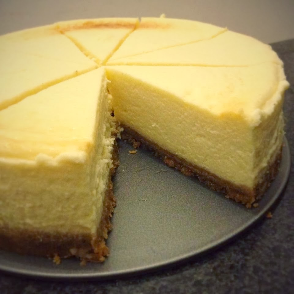 Chicago Style Cheesecake
