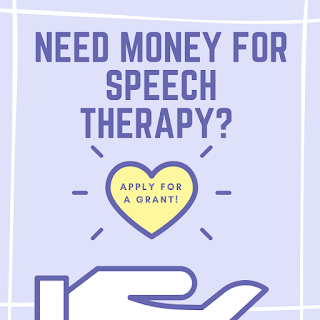 Applying for a grant | funding for speech therapy | speech therapy | Small Steps in Speech | apraxia of speech