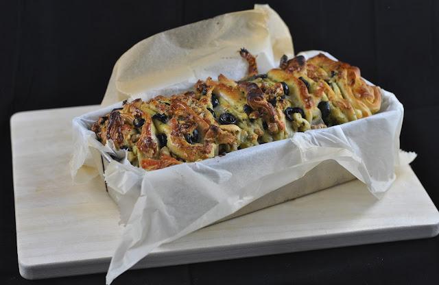 Frisch aus dem Ofen: Faltpizza