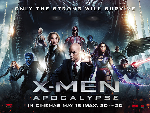 X-MEN: APOCALYPSE QUAD LAUNCH POSTER