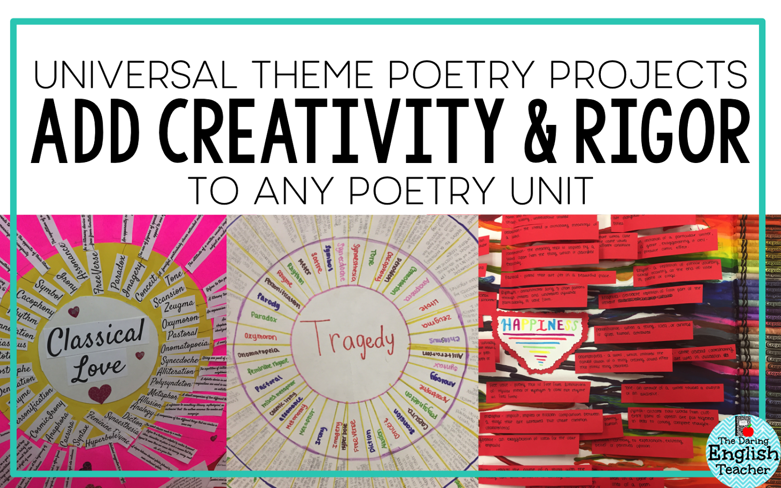 The Daring English Teacher Adding Creativity And Rigor To Poetry