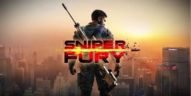 volition portion FPS game developed yesteryear Gameloft Download Sniper Fury v1.7.1a apk Mod Unlimited Money