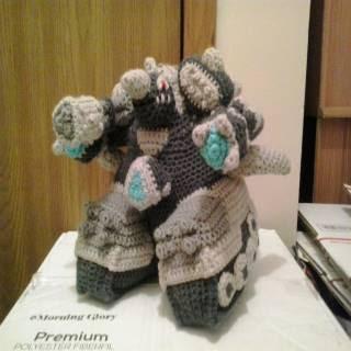 PATRON GRATIS RHYPERIOR TANK POKEMON AMIGURUMI 30744