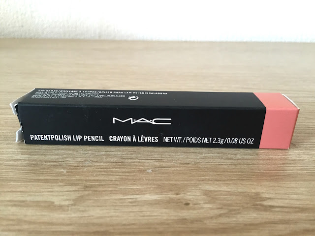 MAC Patentpolish Lip Pencil In Revved Up