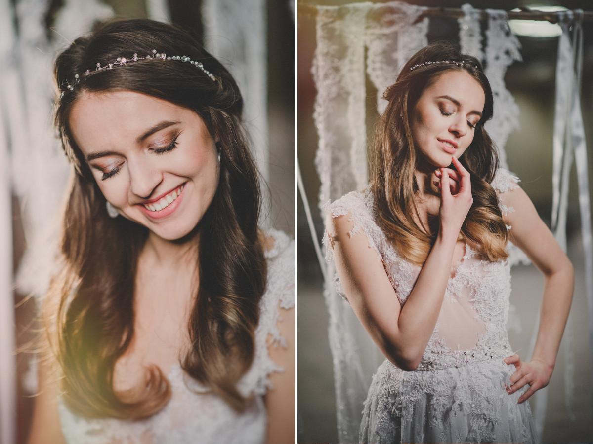 Biżuteria ślubna Pillow Design 20 Pomysłów Na Fryzurę ślubną Z