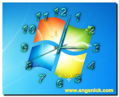 TheAeroClock 4.11 - Еще пример вида часов