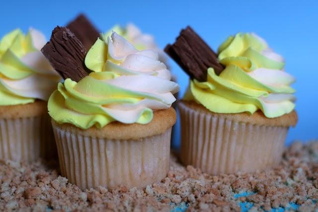 Redcar Lemon Top Cupcakes
