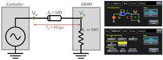 With VP@Rcvr, we can create a model of the transmission line and compensate for reflections