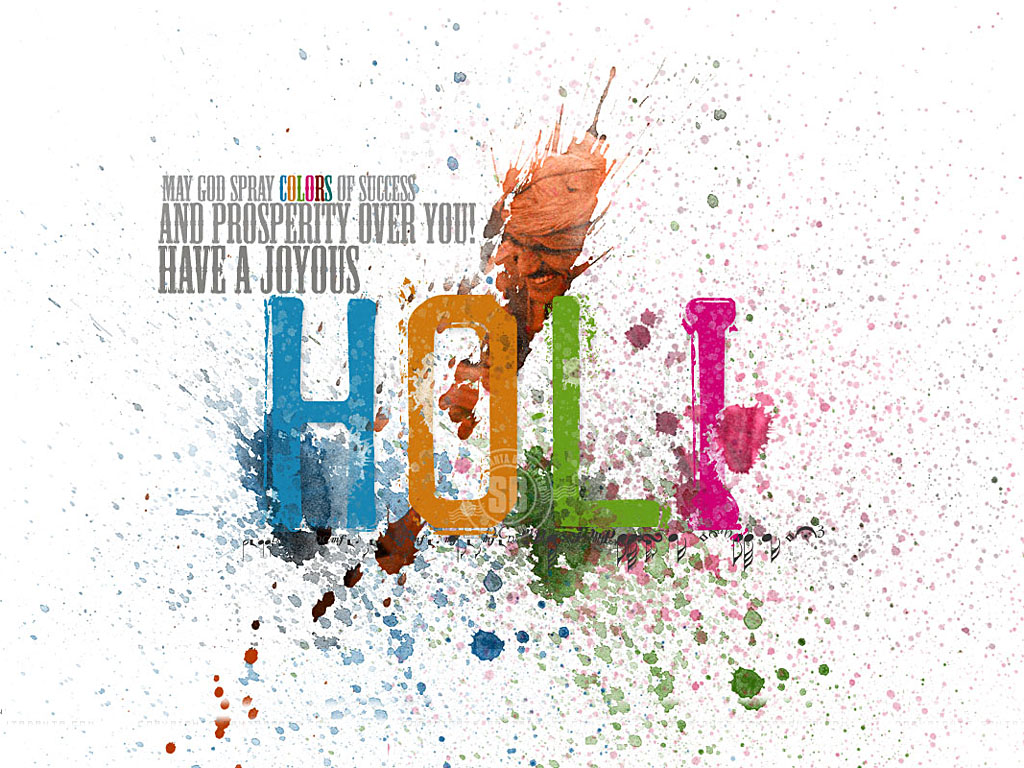 Top 10 Holi Wallpapers for Facebook | FB Covers