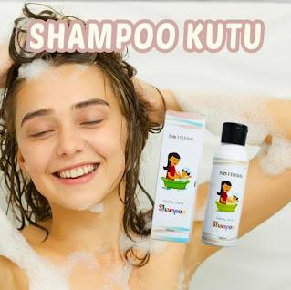 Shampoo obat kutu rambut