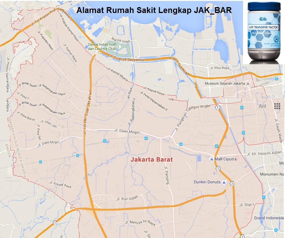 Daftar Alamat Rumah Sakit Di Jakarta - Sekitar Rumah