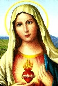 Gráfico de la Virgen María para niños