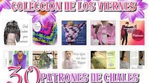 30 Patrones de Chales Tejidos / Colección