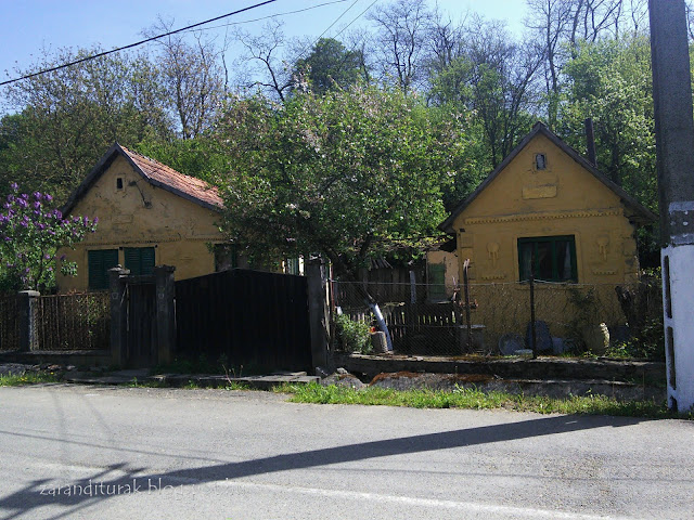 Kalodvai házak tipikus elrendezése