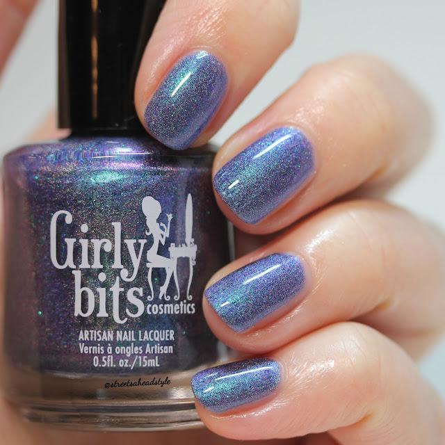 Girly Bits Blue Year's Resolution Nail Polish\