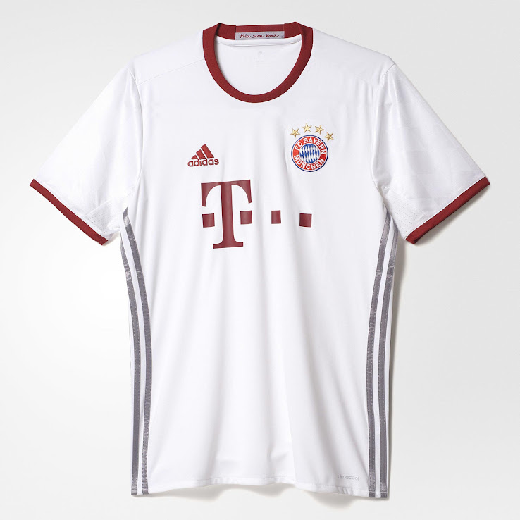 Bayern Munich 16-17 Third Kit Released - Footy Headlines 0b5a541453c0