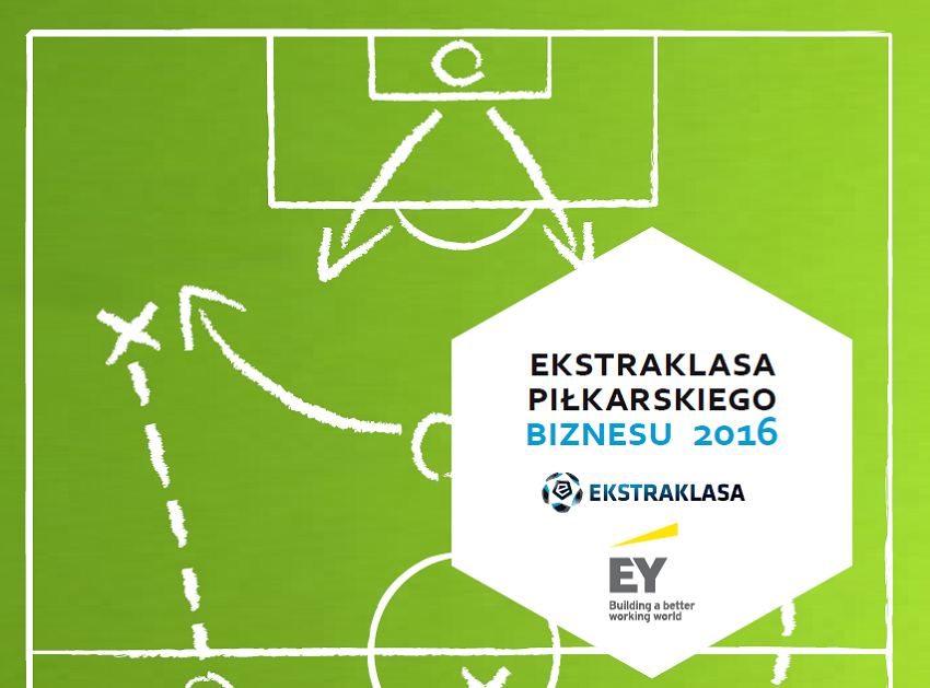 Ekstraklasa Piłkarskiego Biznesu 2016 - okładka raportu