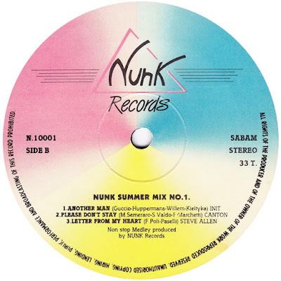 Various Nunk Summer Mix No. 1.