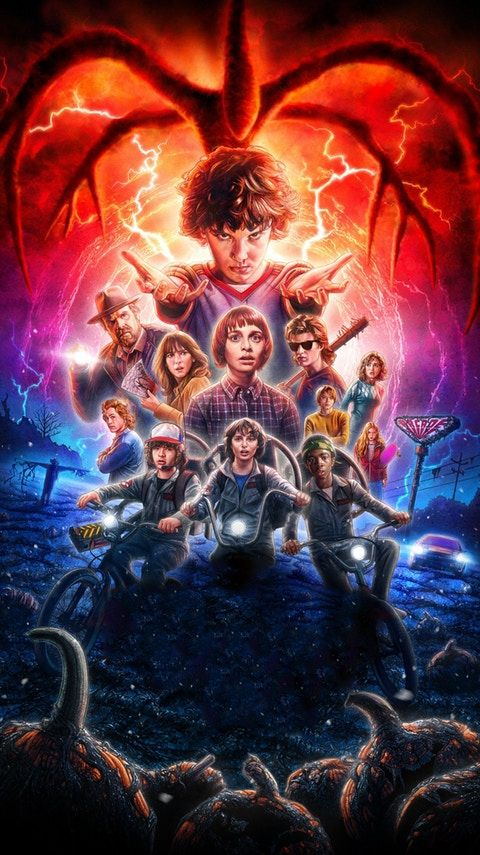 Stranger Things S02 Complete Dual Audio 480p Netflix BluRay [Hindi + English]