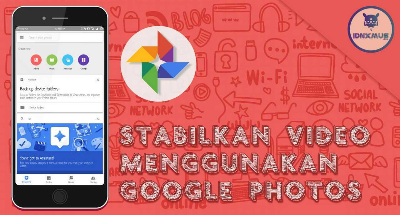 Stabilkan Video Dengan Google Photos